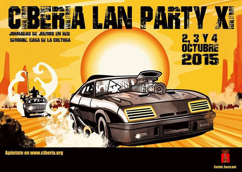 Ciberia Lan Party 2015: 2, 3 y 4 de octubre. Hemos vuelto